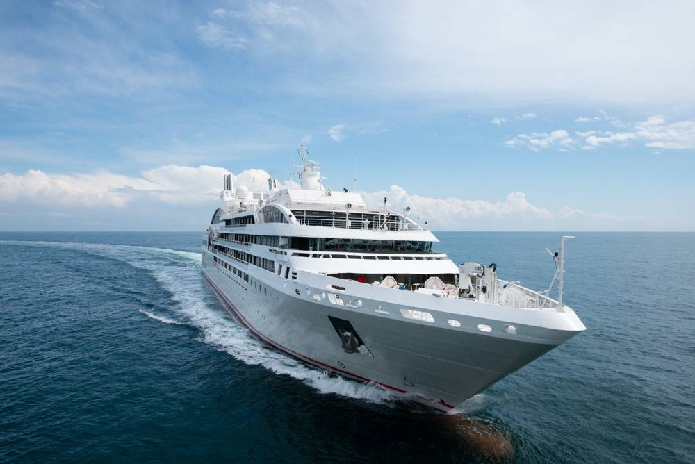 French Cruise Line Flagship Delivered By