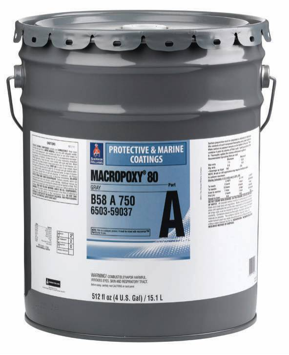Marine Epoxy Paint : Sherwin williams launches macropoxy coating