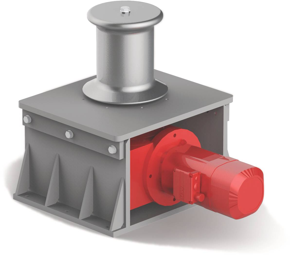 Right Angle Winch : Mn patterson manufacturing inc