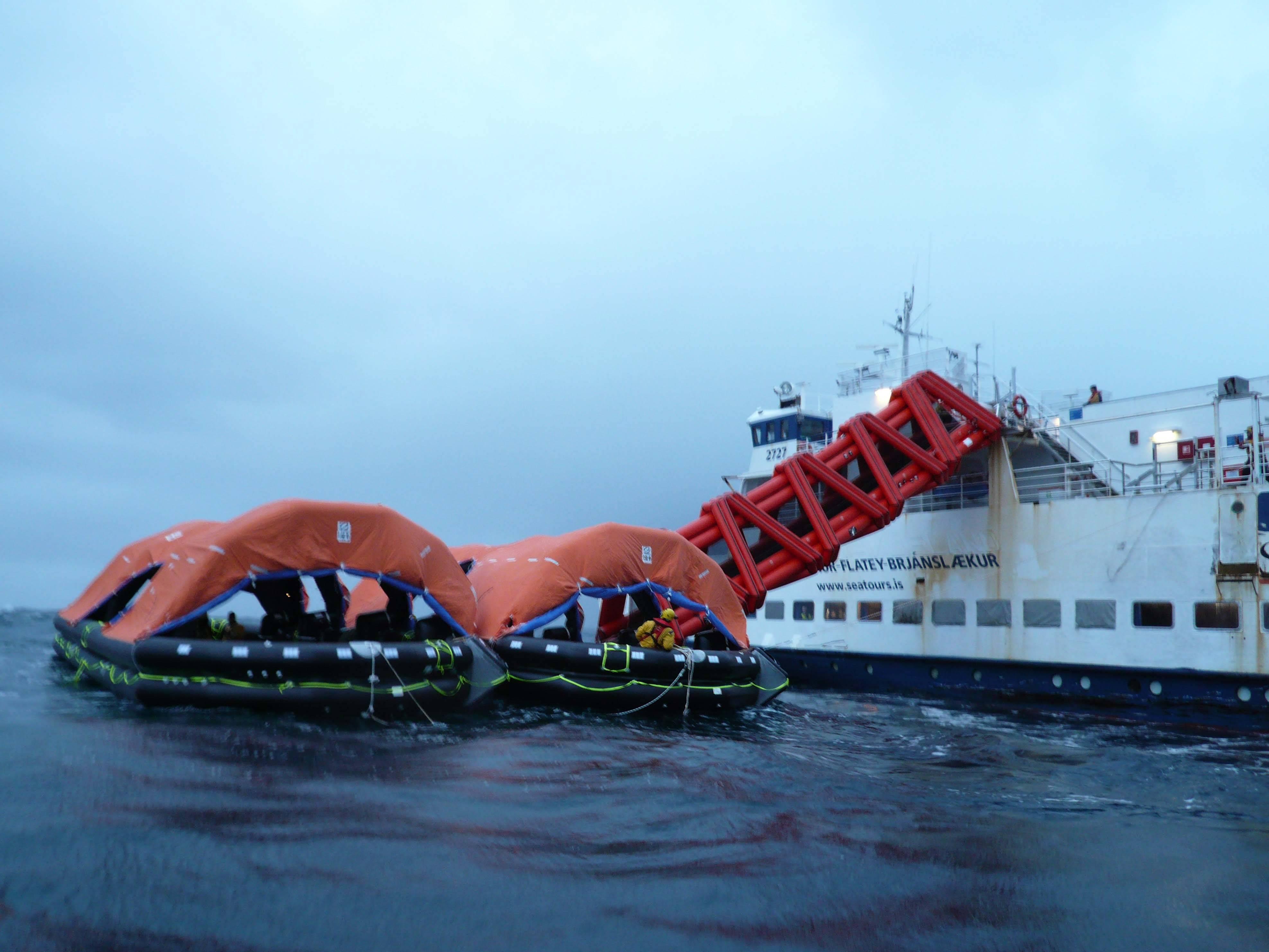 Escape Slide Raft Inflatable Slide Escape