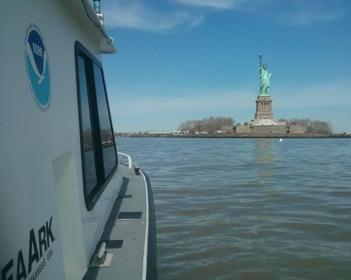NOAA Updates New York Harbor Charts Post-Sandy