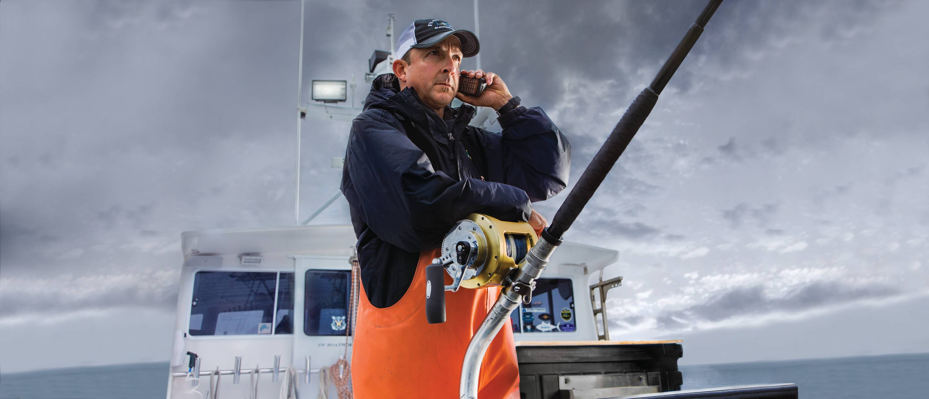 Wicked tuna captain relies on globalstar for Captain dave s fishing