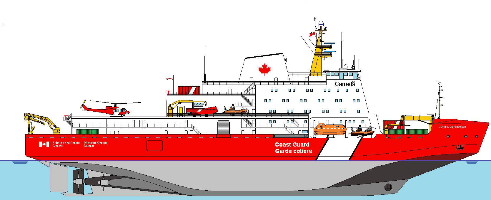 Stx To Design Canadian Icebreaker