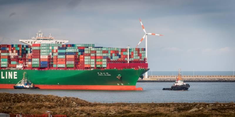 Cscl globe calls the port of zeebrugge for Port zeebrugge