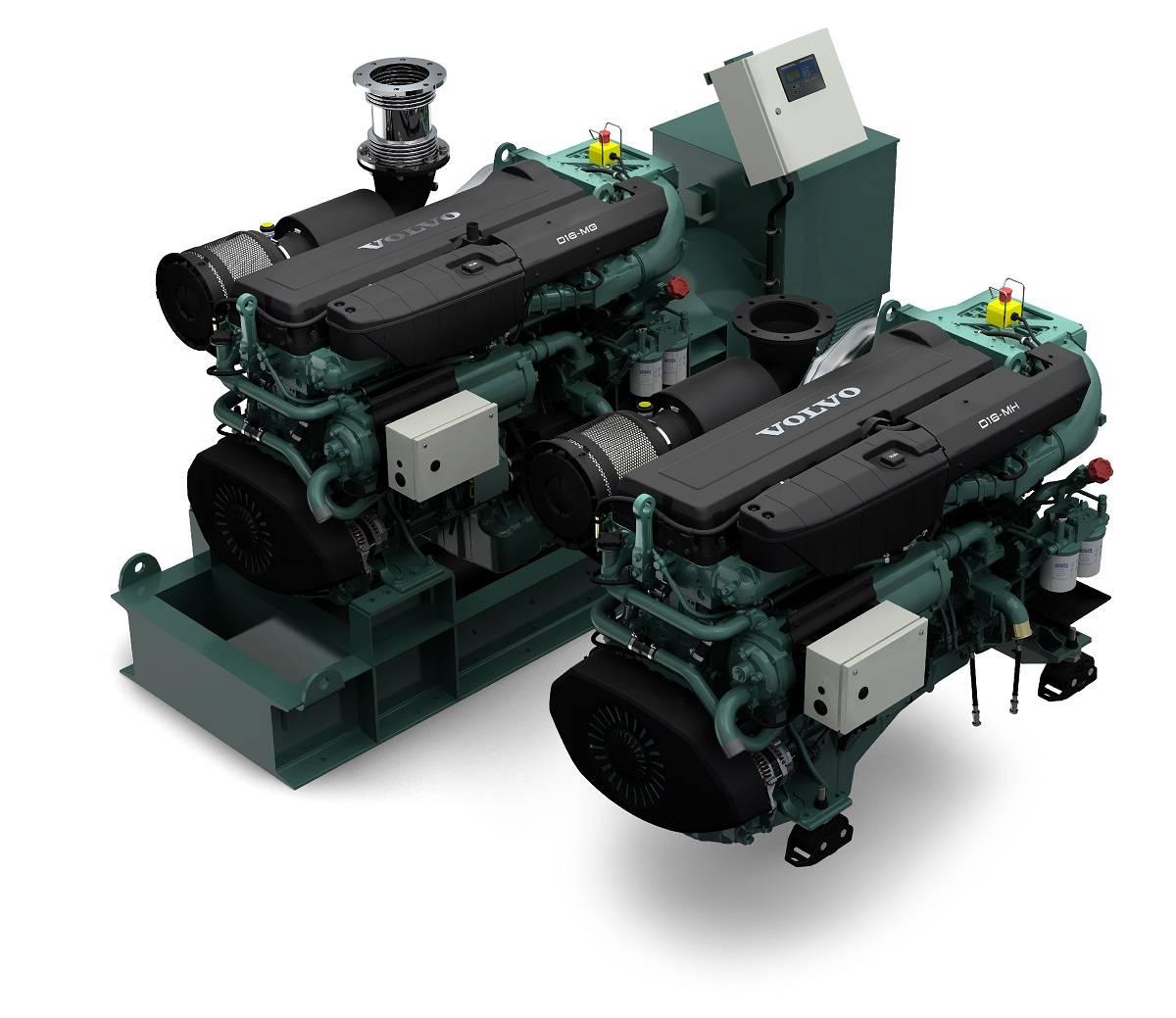 Volvo Marine Engines: Volvo Penta Debuts Updated D16 Engine