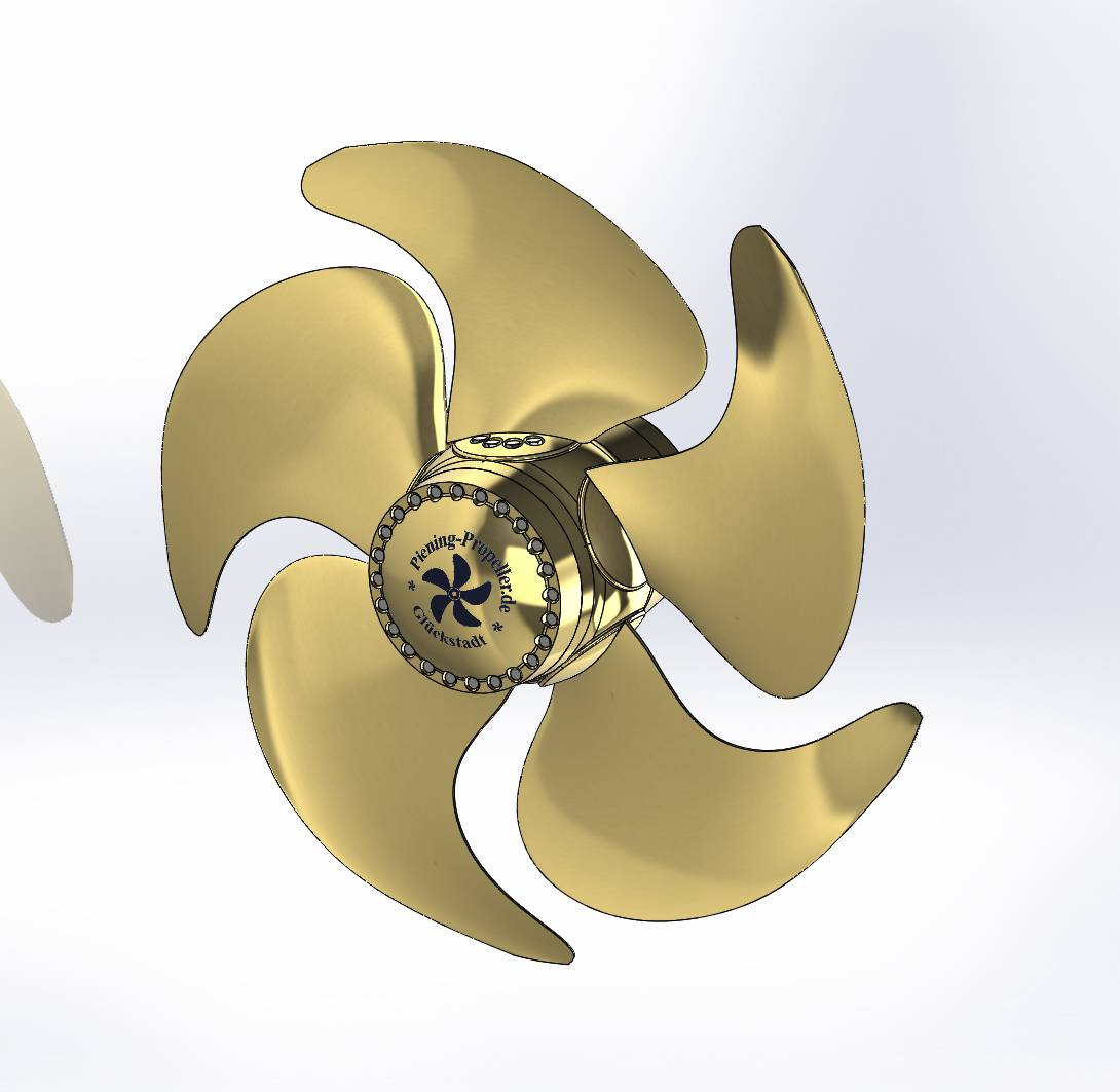 Controllable Pitch Propeller : Controllable pitch propeller with water based hydraulic