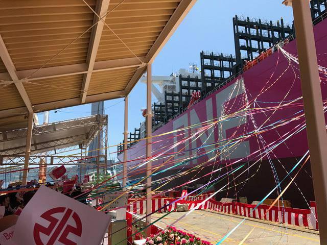 Μία αποδεκτή παράδοση του One Minato στις 24 Ιουλίου στη Χιροσίμα της Ιαπωνίας (Φωτογραφία: ONE)