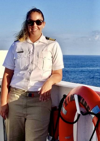 Ο καπετάνιος Μέγκαν Πάλμερ