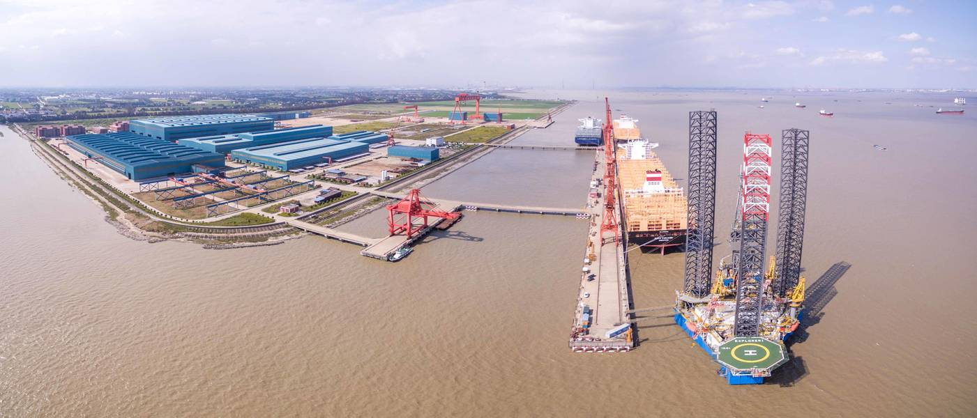 الصورة: ميتسوي إي أند إس هولدنجز المحدودة / بناء السفن يانغزيجيانج