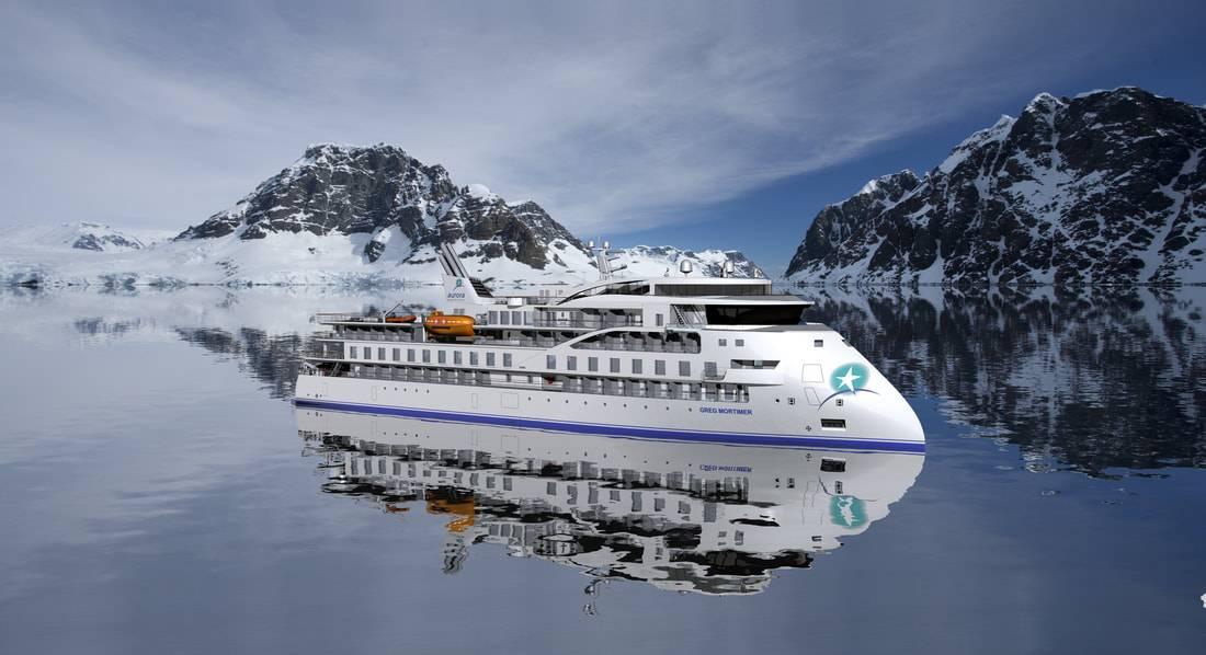 تقديم ثلاثي الأبعاد لسفينة إنفينيتي (صورة: SunStone Ships)