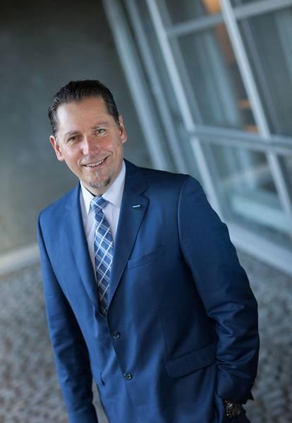 ريمي اريكسن ، رئيس المجموعة والرئيس التنفيذي لشركة DNV GL. الصورة: DNV GL
