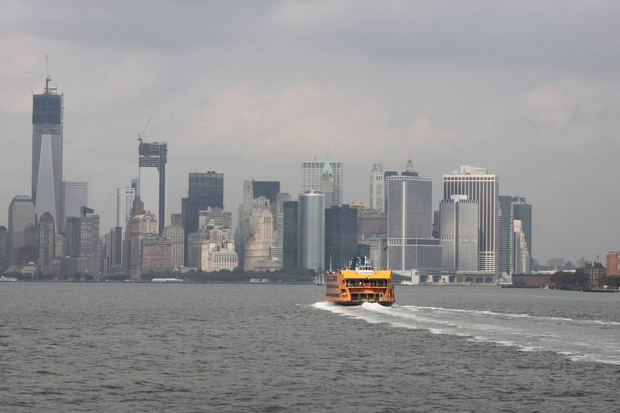 عبارات جزيرة ستاتين ، مدينة نيويورك. الصورة ائتمان: جريج Trauthwein