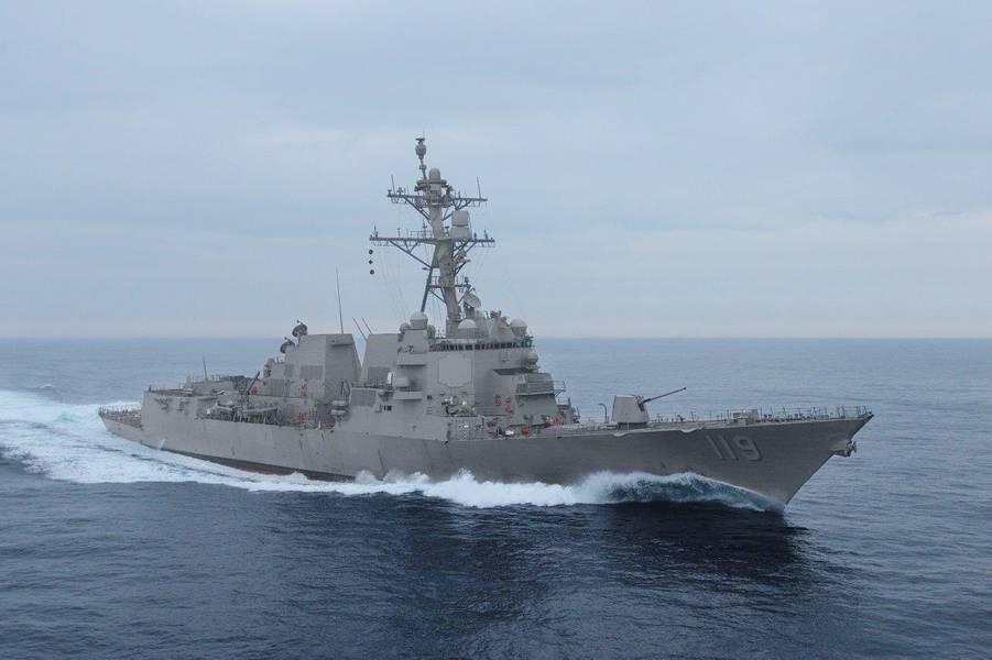 مستقبل يو إس إس ديلبرت د. بلاك (DDG 119) (الصورة: البحرية الأمريكية)