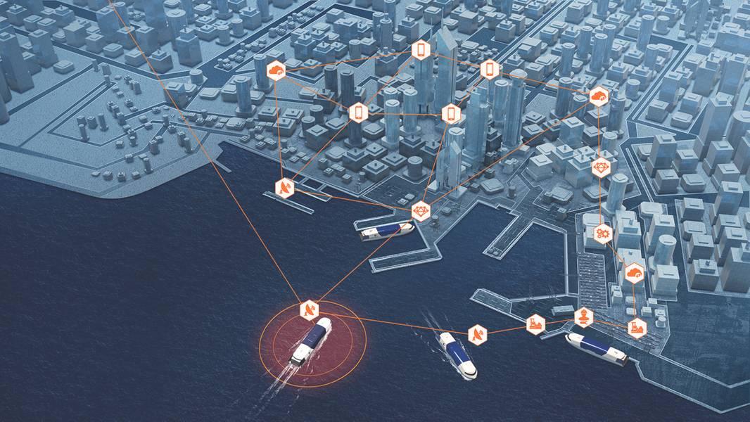 وسيساعد استحواذ وارتسيلا الأخير على ترانساس على ربط السفن الذكية بالمنافذ الذكية بسلاسة أكبر. (بإذن من فرتسيلا)