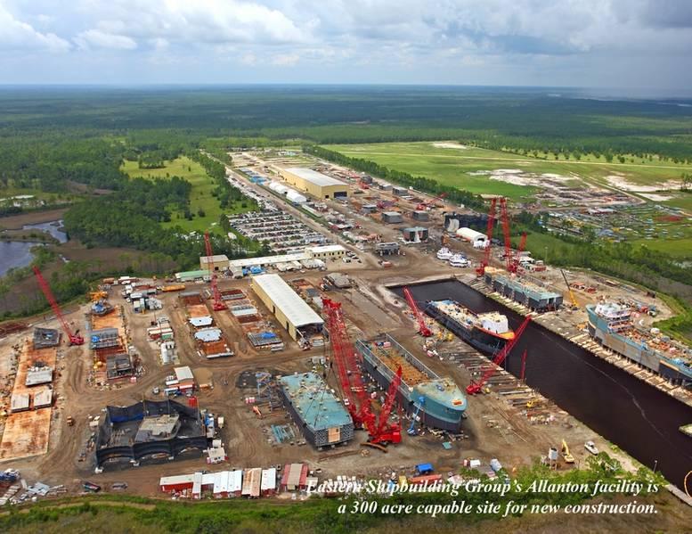 ईएसजी एलेंटन सुविधा के रूप में यह तूफान से पहले दिखाई दिया। ईएसजी ने अपनी सभी सुविधाओं को पुनर्निर्माण और पुनर्स्थापित करने की प्रतिज्ञा की है। (छवि: ईएसजी)