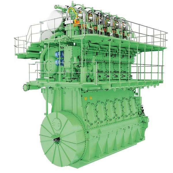 नया मैन ईएस बी और डब्ल्यू एमई-एलजीआईपी इंजन। छवियां: © MAN ES