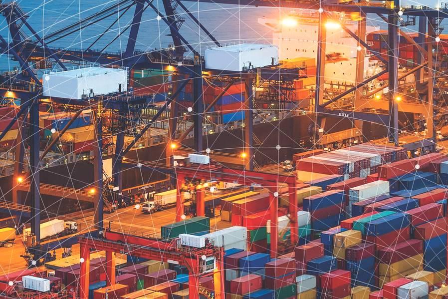 राजंत के कायनेटिक मेष सुनिश्चित करता है कि मोबाइल कनेक्टिविटी बंदरगाहों को पूरी तरह से और सुरक्षित रूप से कार्य करने की आवश्यकता है। (फोटो सौजन्य राजंत)