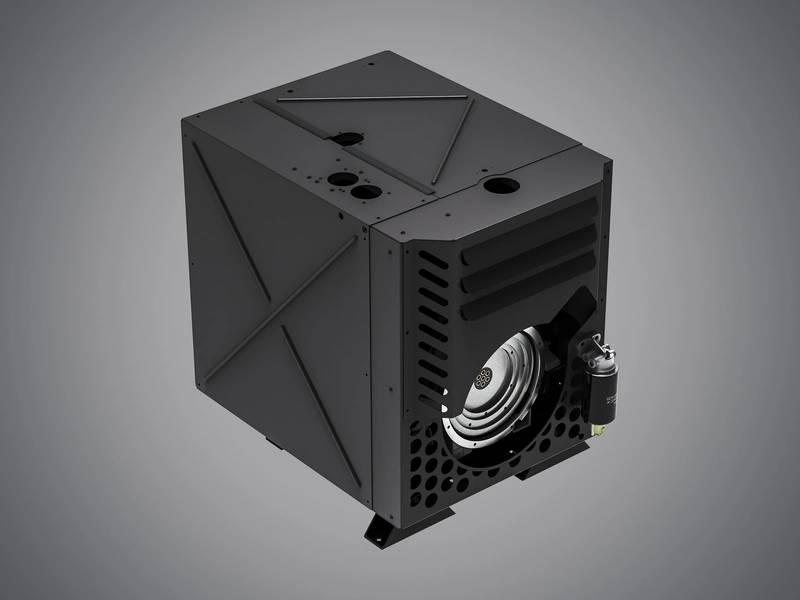सार्वभौमिक रूप से लागू हत्ज़ एच-सीरीज़ साइलेंट पैक इंजन कम्पार्टमेंट डिज़ाइन को बदल देता है और मशीन में कम जगह की आवश्यकता होती है। (फोटो: मोटरफैब्रिक हर्ट्ज GmbH एंड कं किलोग्राम)