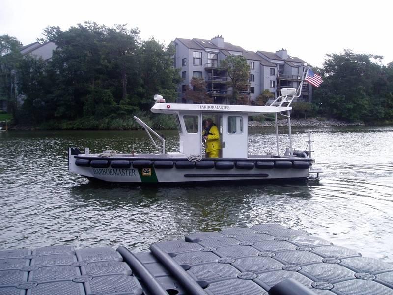 ファイルイメージ:典型的なハイブリッドドライブ船(メタルクラフト)