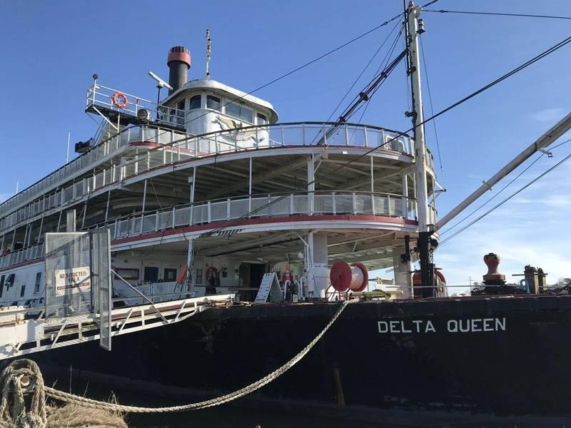 三角洲女王(信贷:Delta Queen轮船公司)