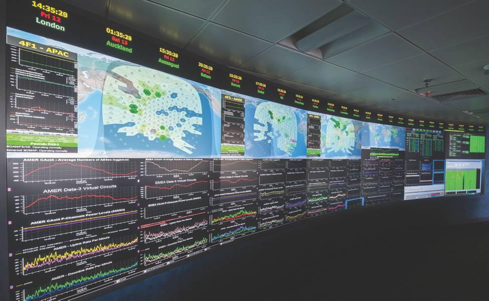 国际海事卫星组织网络将在自主操作中发挥重要作用。 (Inmarsat供图)