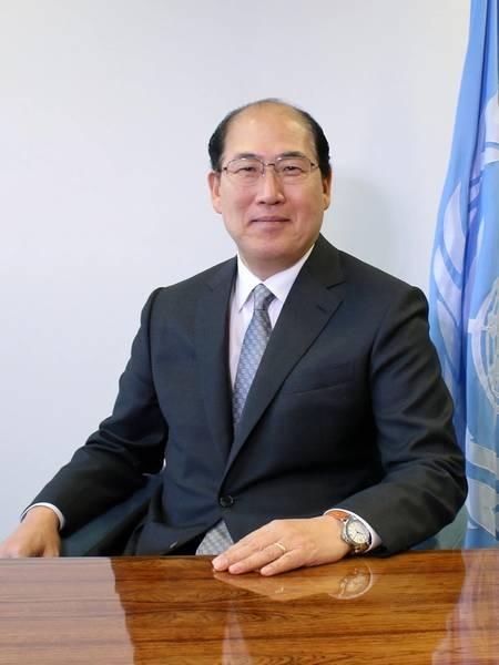国际海事组织秘书长Kitack Lim。照片:IMO