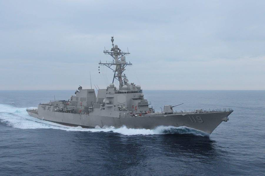 未来的德尔伯特·D·布莱克号(DDG 119)(照片:美国海军)