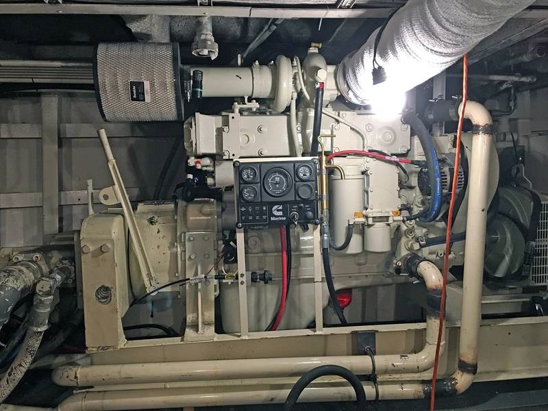 油圧式テイクオフ補助装置(写真提供:Deon Strickland / Cummins)