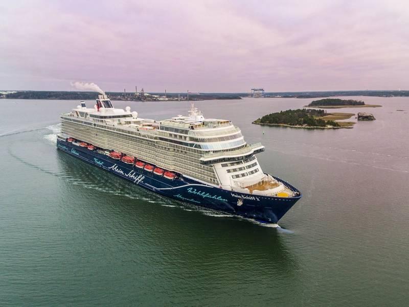照片:Meyer Turku / TUI Cruises
