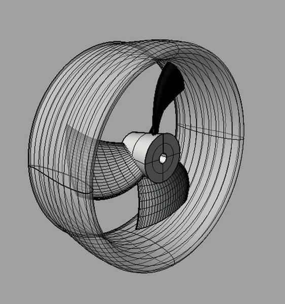 現代のUUV推進装置の設計