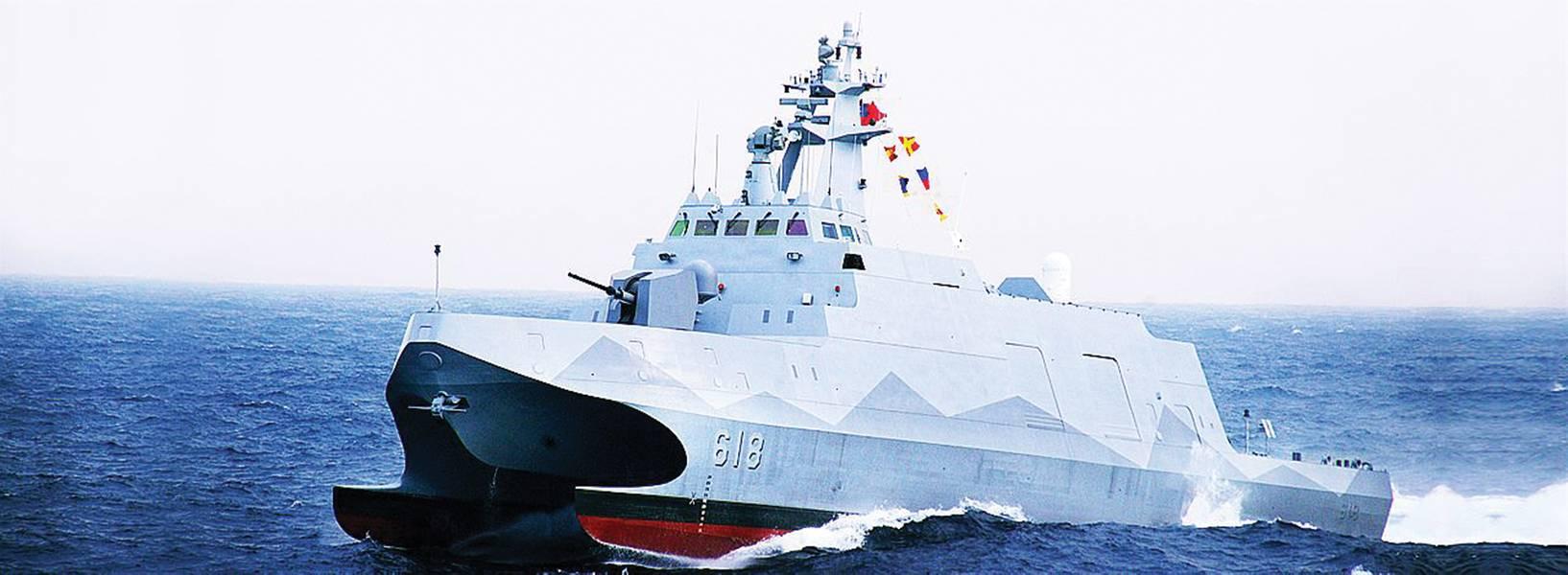 第一艘ROCS Tuo Chiang(PG 618)是一类隐形多任务轻型护卫舰中的第一艘。 (ROCN照片)