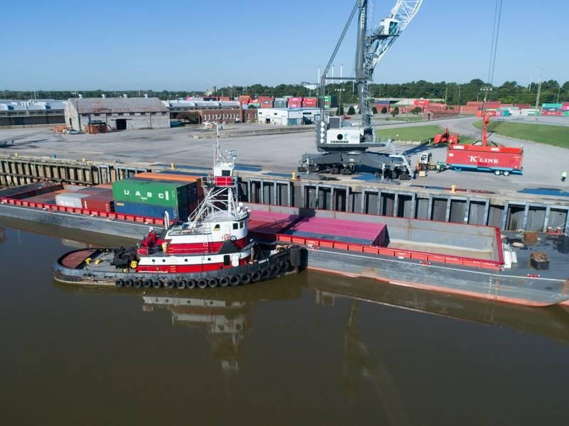 里士满海洋码头(来源:弗吉尼亚港)