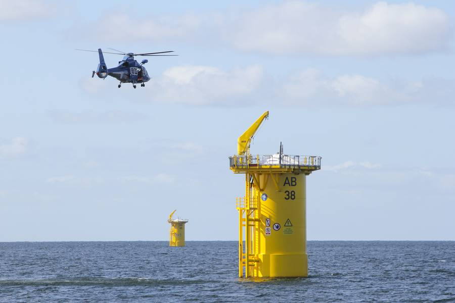 预计到2030年,美国海上风电场的总装机容量将达到22,000,到2050年将达到43,000。为支持这一增长,美国能源部报告称,到2030年将创造40,000多个新的就业机会。©Zacharias / AdobeStock