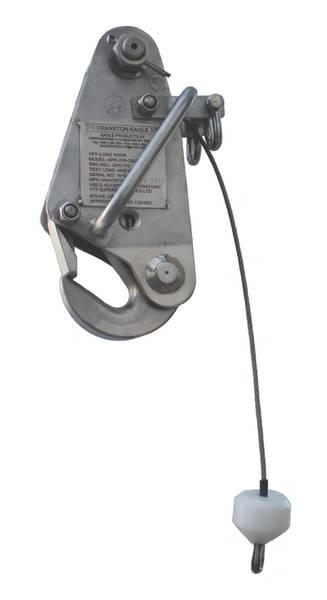 クランストンイーグルAPR-206-CBHマリンフック:ワシントン州フェリーシステムがフェリーボートレスキュークラフトを発進させ回収するために使用するUSCG認定の安全で信頼性の高いシステム。 (写真提供:Delta T Systems、Inc)