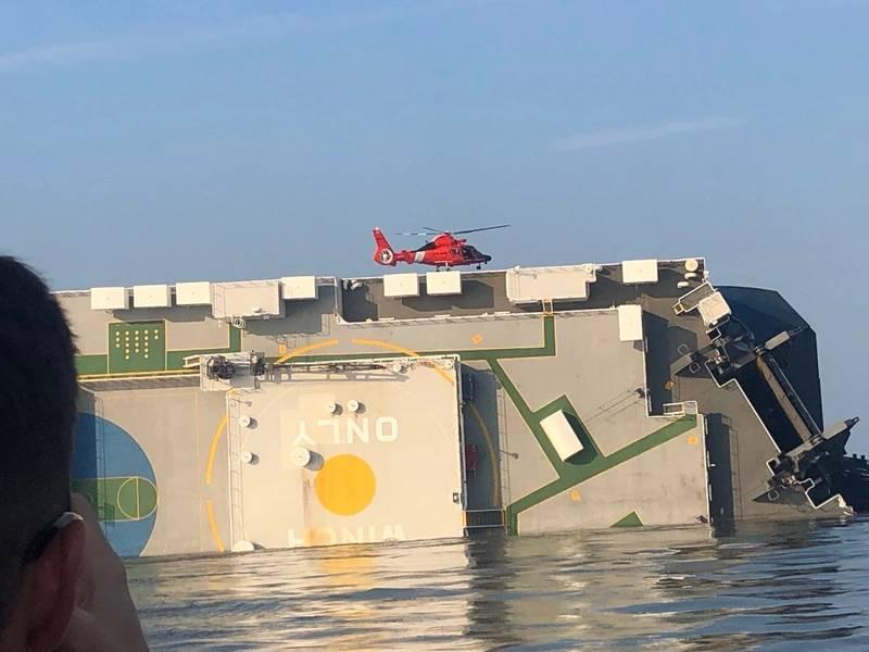 (写真:米国沿岸警備隊)