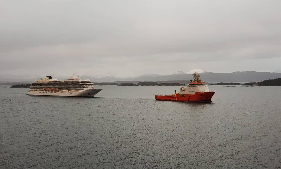 (写真:Erik Johan Landa / Norwegian Maritime Authority)