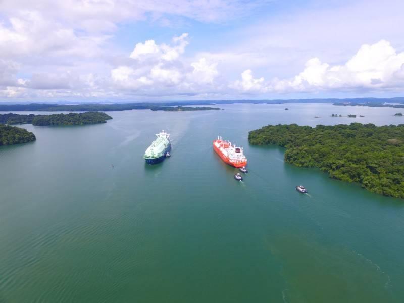 (图片:巴拿马运河管理局)
