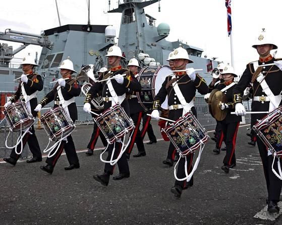 (الصورة: البحرية الملكية)