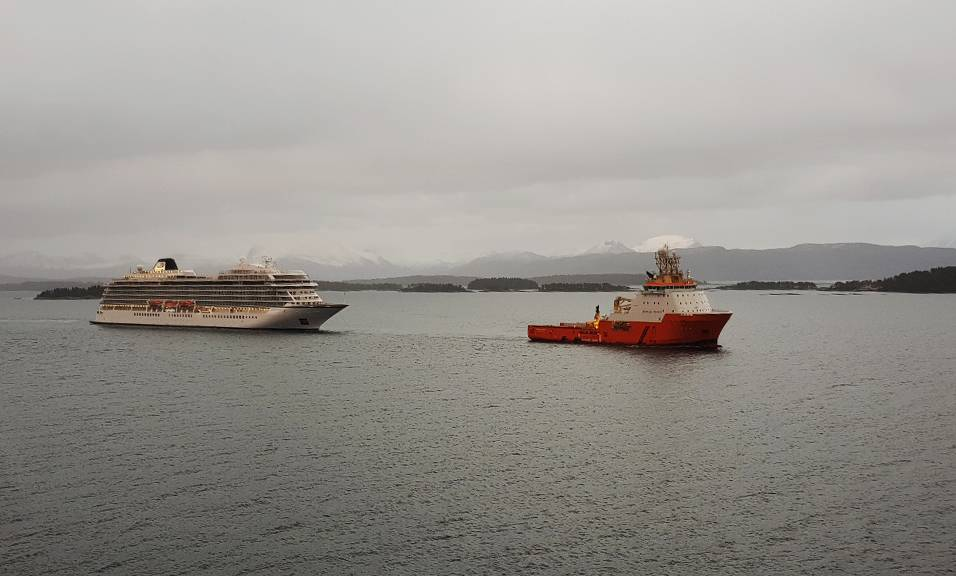 (Foto: Erik Johan Landa / Autoridade Marítima Norueguesa)