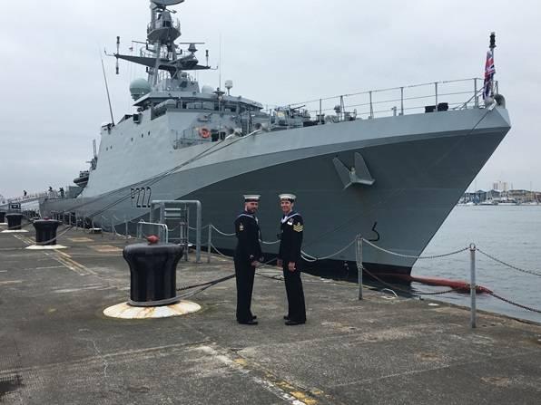 (Foto: Marinha Real)