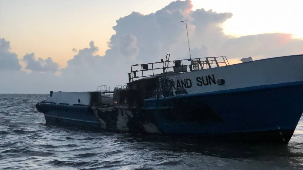 (Foto der US Coast Guard mit freundlicher Genehmigung der Coast Guard Station Venice)
