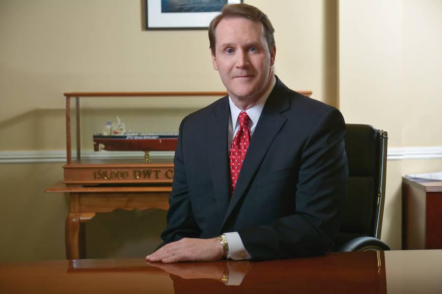 Art Regan,Genco Shipping&Trading执行主席。 (照片:Genco)