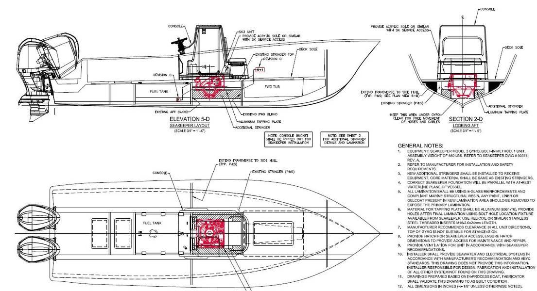 Bild Courtesy Ocean 5 Naval Architects.