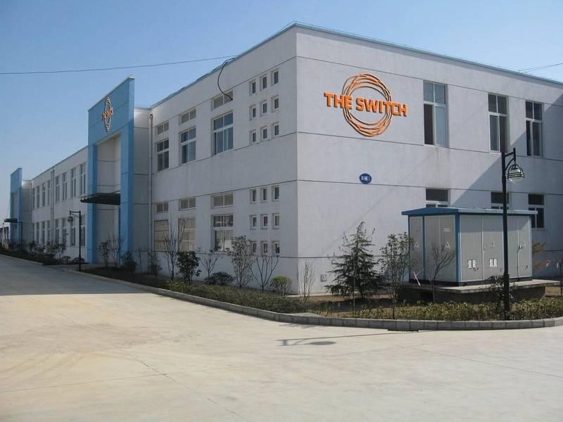 China-Herausforderung: Die Switch-Präsenz in China umfasst diesen Standort in Luan. Bild mit freundlicher Genehmigung von Yaskawa The Switch