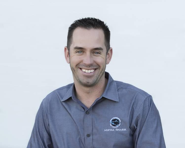 Chris Allard, CEO von Metal Shark