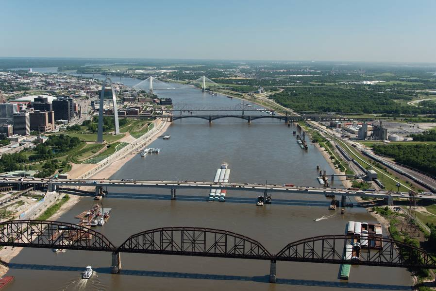 Crédito: St. Louis Regional Freightway