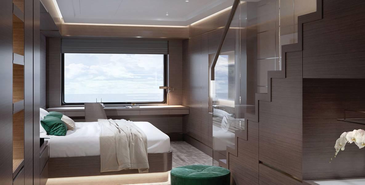 Die Loft Suite. Bildnachweis: Die Ritz Carlton Yacht Collection