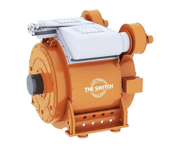Doble uso: un motor de imán permanente marino de The Switch. Imagen cortesía de The Switch