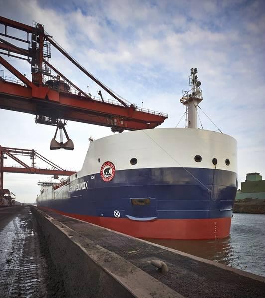 Ein St. Lawrence Seaway Bulk Schiff (SLSMC)