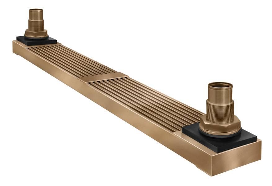Ein von Fernstrum hergestellter GRIDCooler-Kielkühler. Bildnachweis: RW Fernstrum